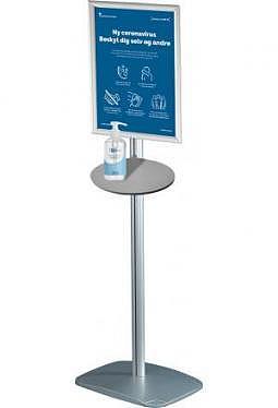 Dispenser - und Infosteller 150cm Ständer mit Fuss